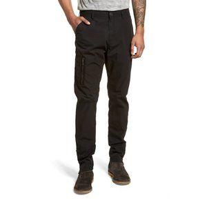 JOHN VARVATOS Cotton Cargo Utility Zipper Pants